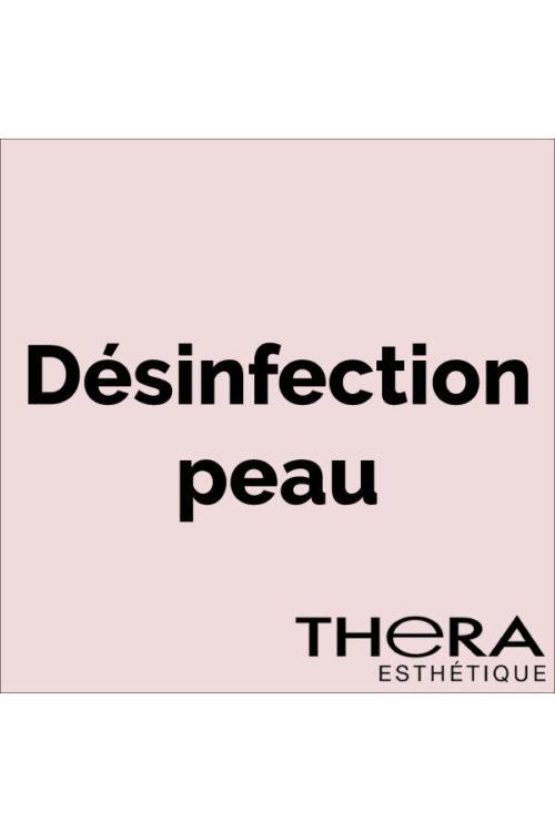 Désinfection peau