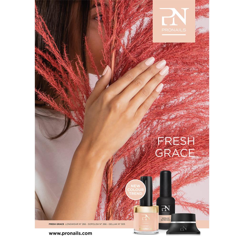 THERA ESTHETIQUE Grossiste En Produit Esthetique Bretagne Pronails Marketing Tools Poster Fresh Grace 29600
