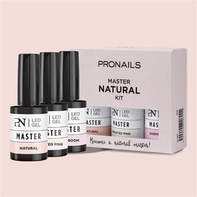 THERA ESTHETIQUE Grossiste En Produit Esthetique Bretagne Pronails Master Kit 3 Shades Of Natural 29622