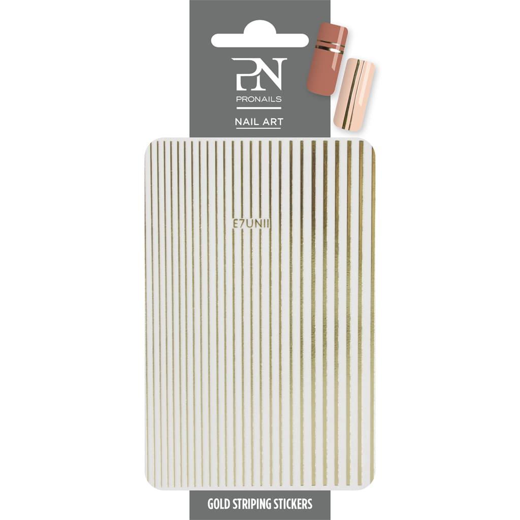 THERA ESTHETIQUE Grossiste En Produit Esthetique Bretagne Pronails Nail Art Gold Striping 29592 1