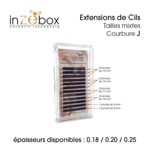 THERA ESTHETIQUE Grossiste En Produit Esthetique Bretagne EXTENSIONS DE CILS TAILLES MIXTES COURBUREJ 800x