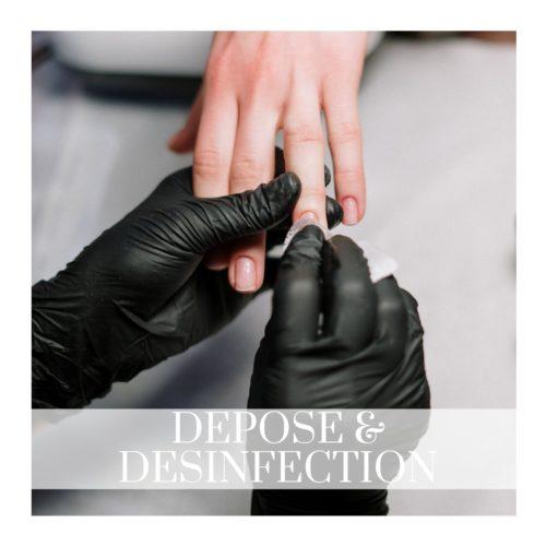 Dépose & Désinfection