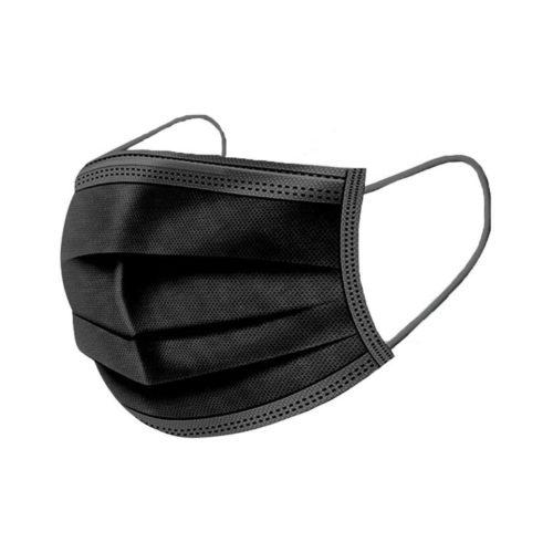 THERA ESTHETIQUE Grossiste En Produit Esthetique Bretagne Masque De Protection Covid 19 3 Plis Noir
