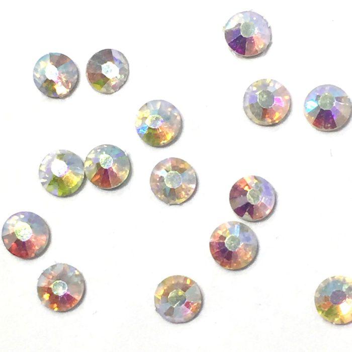THERA ESTHETIQUE Grossiste En Produit Esthetique Bretagne Wholesale Pack 1440 Pieces Clear Crystal Flat Back Silver Foil Backing Size 20 5mm 12527 P